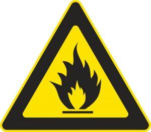 Aufkleber-Gefahrsymbol-feuergefaehrlich