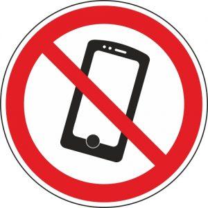 Aufkleber-kein-Mobiltelefon