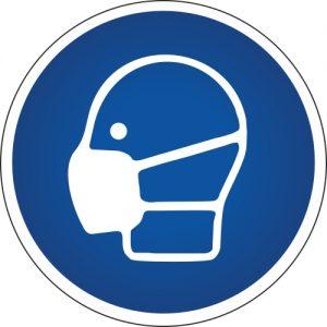 Gebotssymbol-Atemschutz