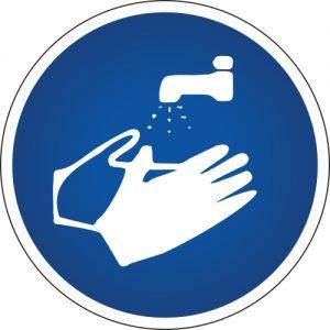 Gebotssymbol-Haende-waschen
