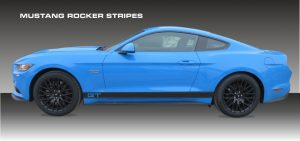 Mustang-Rocker-Stripes-Aufkleber