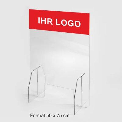 Plexiglas-trennwand-mit-Logo-50x75cm